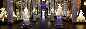Luxury brand Dior in Pushkin Museum, Russia